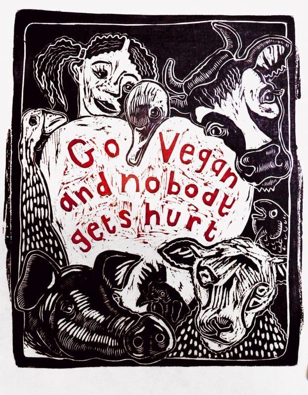 go vegan and nobody gets hurt
