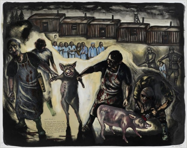 pig concentration camp