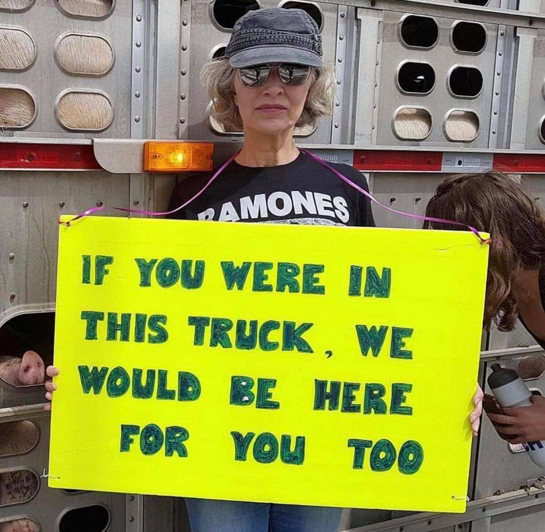 Regan Russell - If you were in this truck, we would be there for you too.