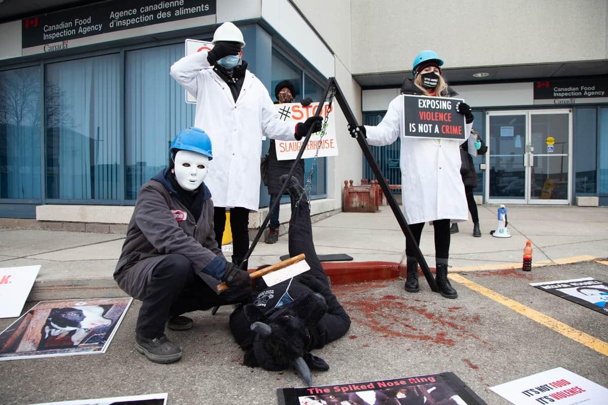 CFIA protest